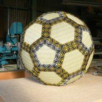 丸いサッカーボール